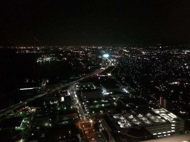 160911 スターゲイトホテル関西エアポート夜景