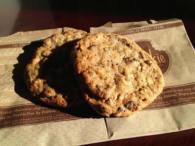 Chocolate chip cookies - DoubleTree by Hilton Hotel