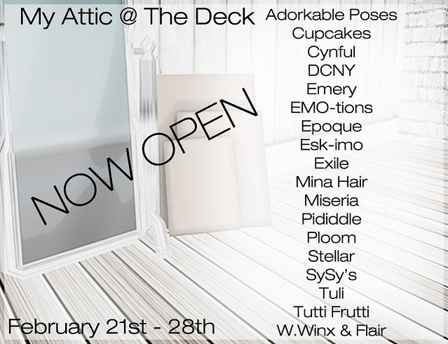My Attic February - Now Open