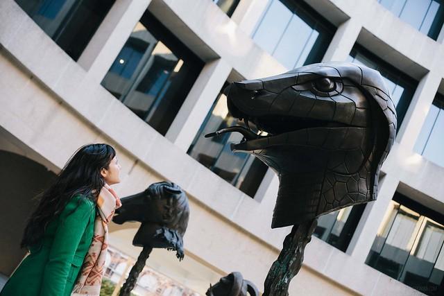 hirshhorn museum / ai weiwei zodiac sculptures
