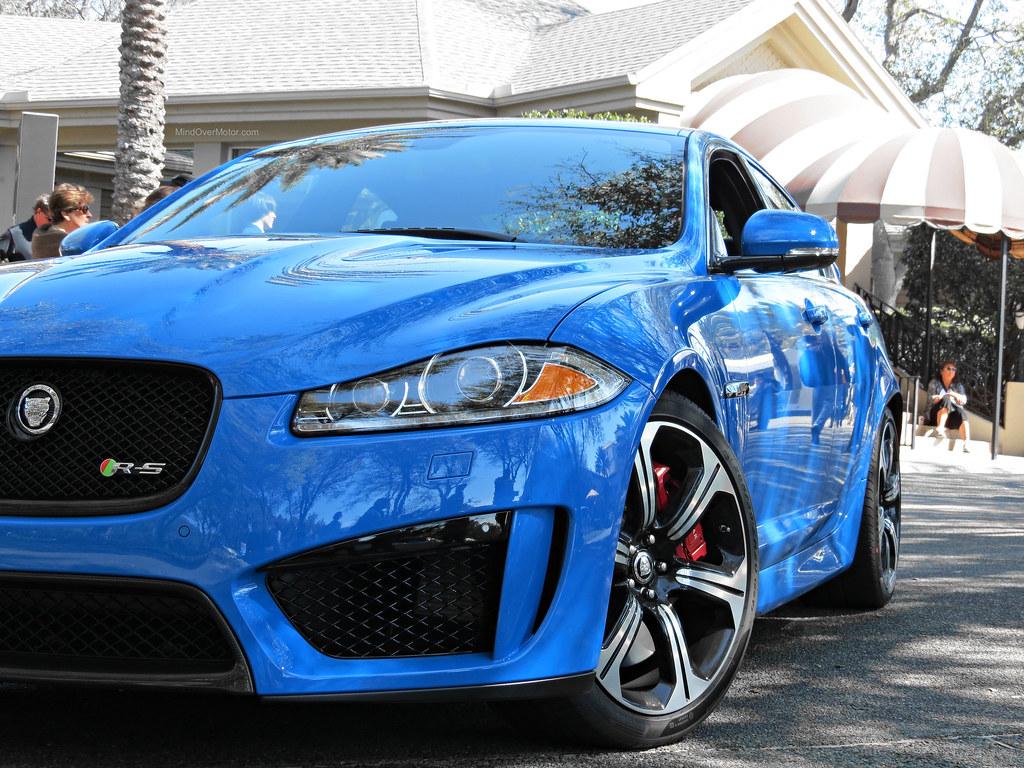Blue Jaguar XFR-S