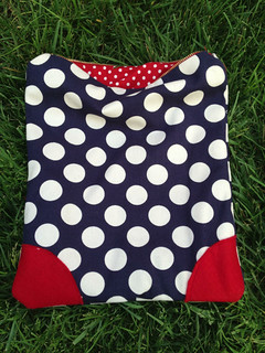 Polka Dot Clutch Bag from Craftcation