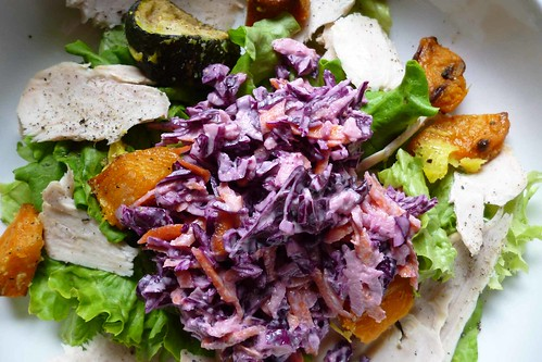 turkey & coleslaw