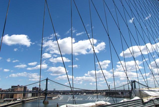Brooklyn Bridge & Manhattan Bridge