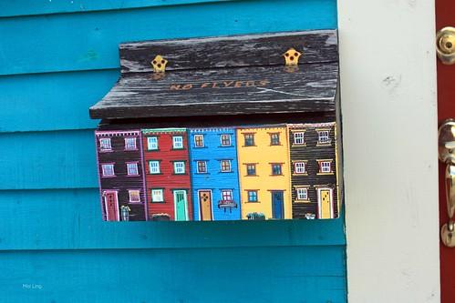 Jelly Bean Row mailbox