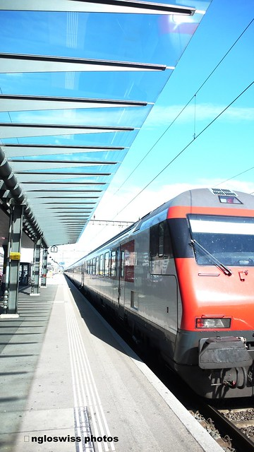 Train Departure Solothurn Main Station