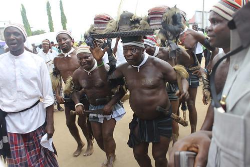 Ohafia War Dancers by Jujufilms