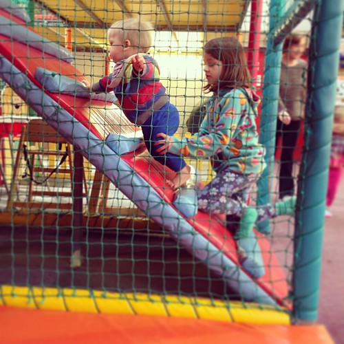 He liked soft play very much indeed.
