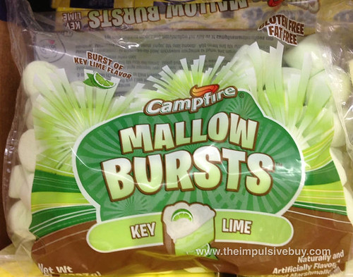 Key Lime Marshmallows