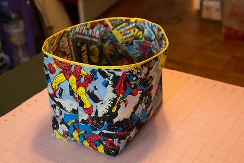 Avengers basket