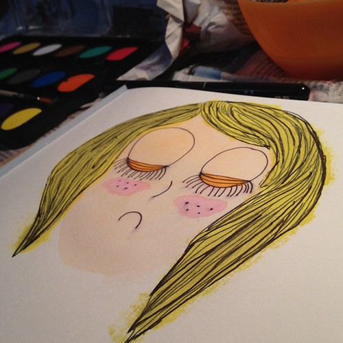 *Can't find inspiration (and that makes me sad)* Nada, q no hay manera.. Grrr!
