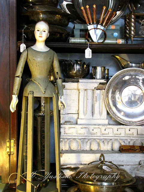 Antique Wooden Mannequin