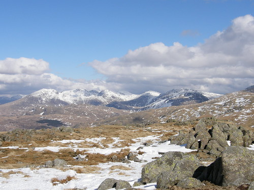 Looking towards Upper Eskdale and the surrounding fells from White Maiden