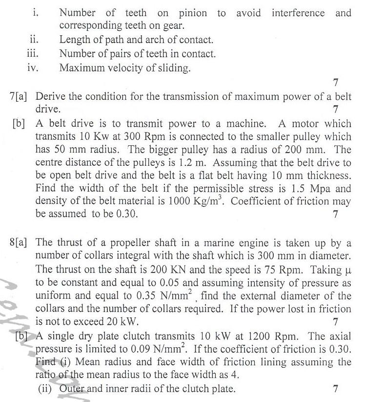 DTU Question Papers 2010 – 4 Semester - End Sem - ME-213