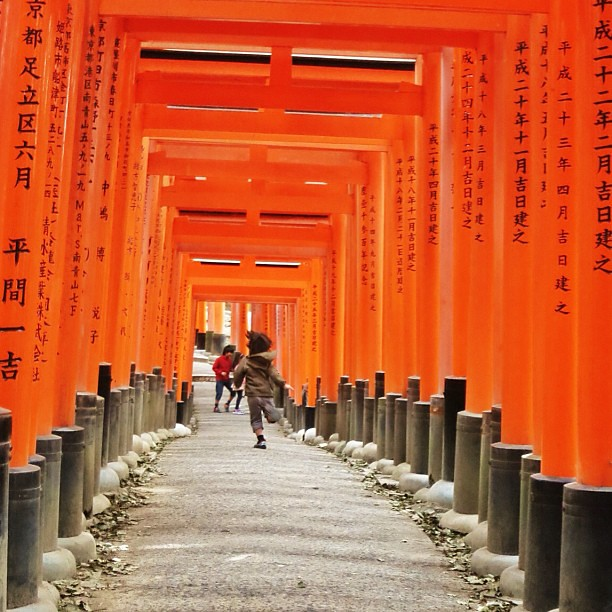 Makati na naman ang paa. #patay #itchyfeet #wanderlust #kyoto #inari #japan2013 #latergram #instatravel
