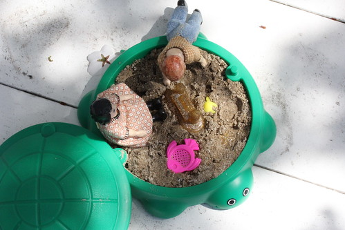 Playing in the sandbox