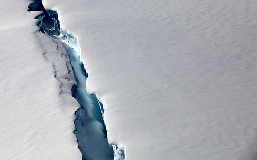 antarctic crevasses by bruno