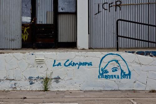 Pintada pro-Kirchner