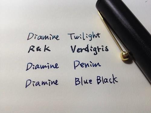 Diamine / R&K inks