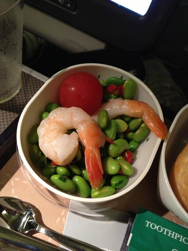 Prawn and Edamame Salad