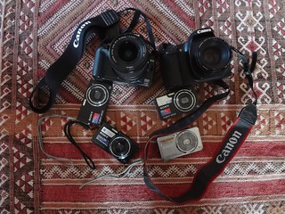 Que máquina fotográfica quer para viajar?