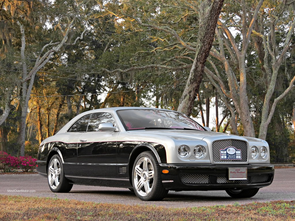Bentley Brooklands spotted on Amelia Island, FL