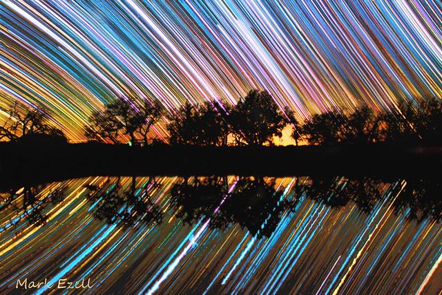 Southwestern Startrail por Mark Ezell