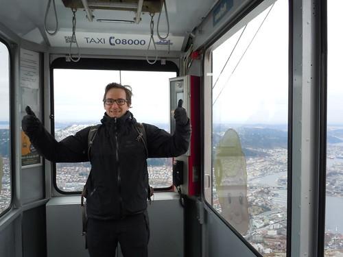 Harrison on the Tram
