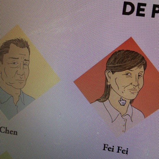 Really digging the Victory Boogie Woogie character portraits