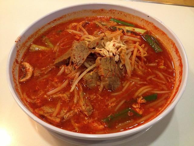 Spicy beef soup - Sorabol