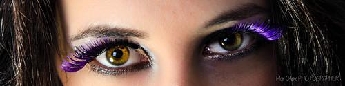 Elena A. y sus ojos intensos
