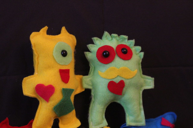 Valentine's Monsters