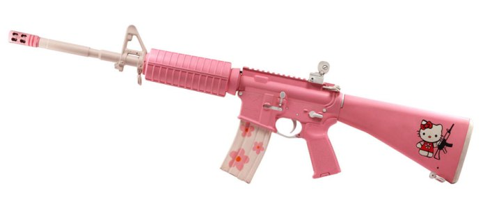 Hello Kitty AR-15