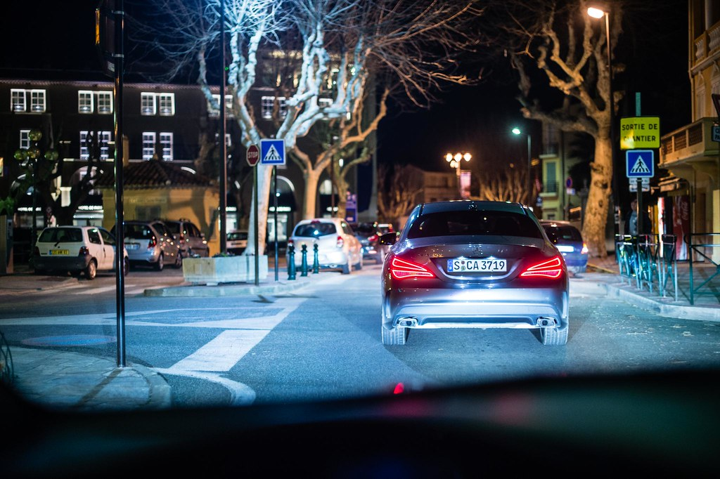 Mercedes-Benz CLA in St.Tropez