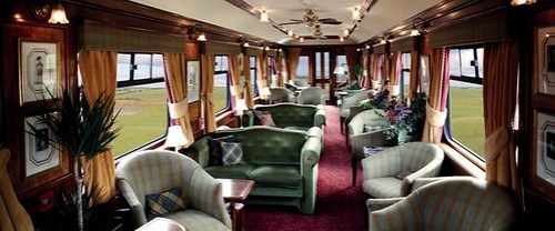 The Royal Scotsman: Tren de Lujo que Viaja por Escocia