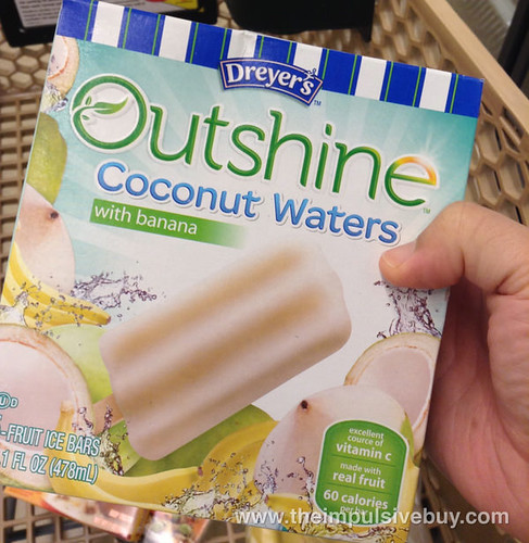 Dreyer's Outshine Coconuts Waters with Banana