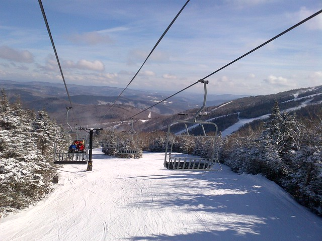 Snowboarding Killington Mountain