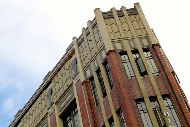 Wednesday: pretty Hibernian building
