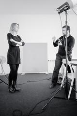 Ilona Grzywinska - Behind the Scenes