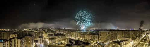 Panoràmica de València al Mar by Monigote Valencia