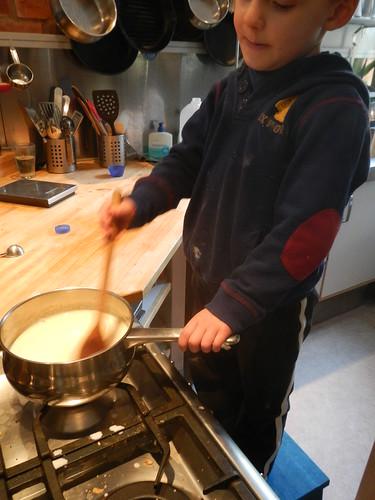Cooking Day - custard