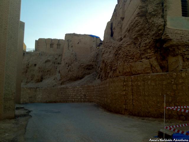 Street in Erbil Citadel