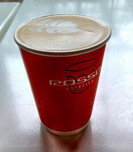 Rosso Espresso latte