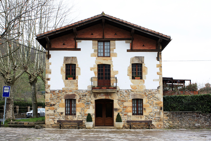 Asador Etxebarri front door