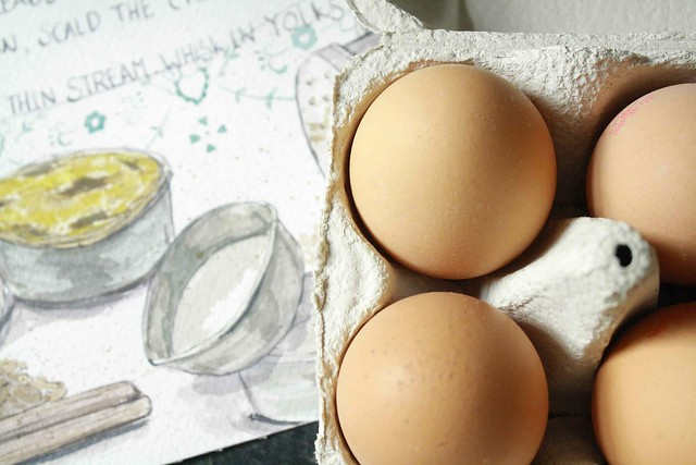 eggs and recipe pasteis de nata