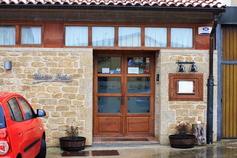 Hector Oribe front door