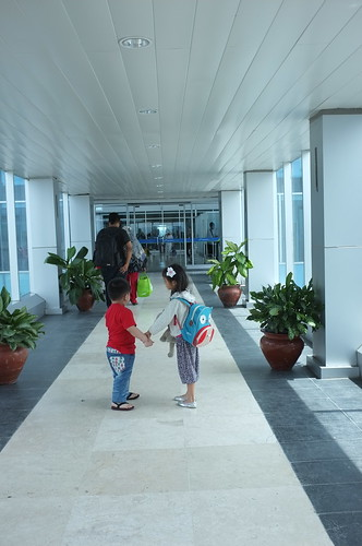 arrived at the Lombok International Airport
