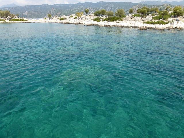 Turquie - jour 8 - Baie de Kekova - 50 - Aquarium bay