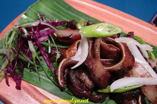Grilled Pig's Ear