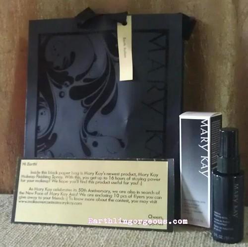 Mary Kay Makeup Finishing Spray
